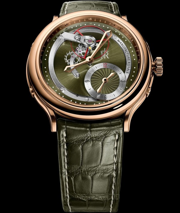 Manufacture Royale 1770 Haute Voltige 'Dragon' rose gold version