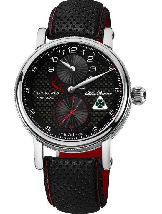 Chronoswiss Regulator Alfa Romeo Quadrifoglio Edition watch