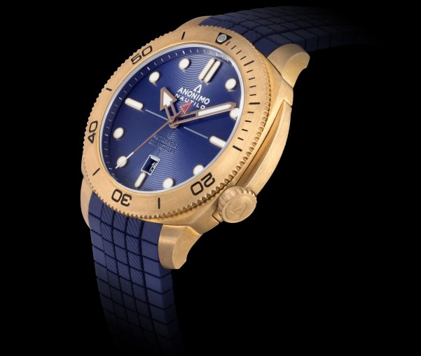 ANONIMO New Nautilo Bronze Blue