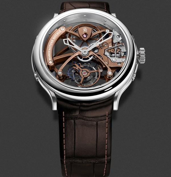 Manufacture Royale 1770 Flying Tourbillon Openwork watch steel version