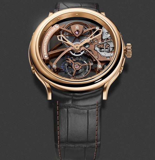 Manufacture Royale 1770 Flying Tourbillon Openwork watch rose gold version