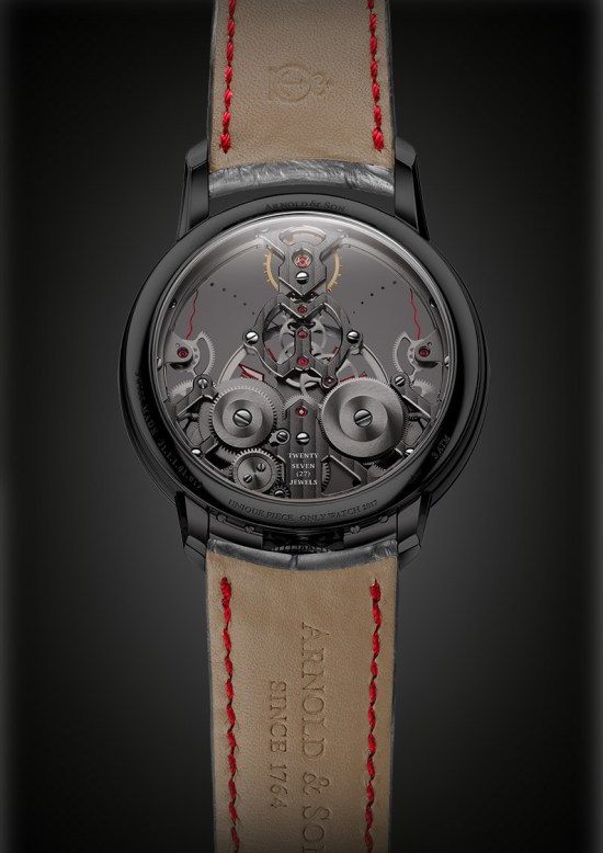 Arnold and Son Time Pyramid for Only Watch 2017
