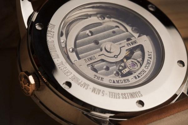 The Camden Watch Company No.29 Automatic watch Miyota movement