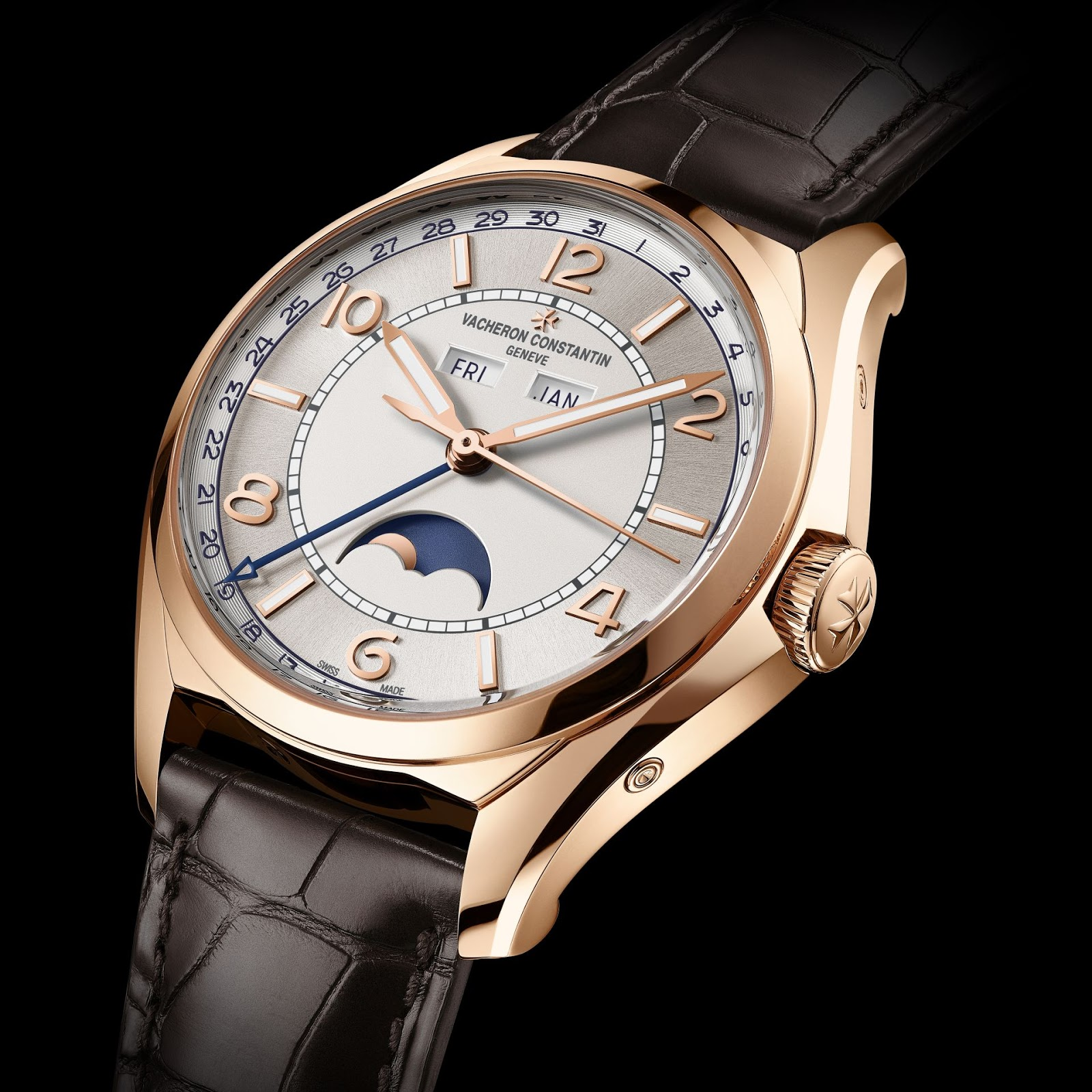 FIFTYSIX Complete Calendar With Precision Moon Phase (Ref 4000E000R-B438) advise