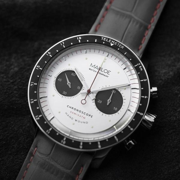 Marloe Watch Company Lomond Chronoscope classic panda dial
