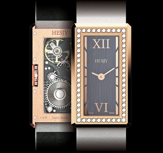 HESJY elle-one diamond set watch