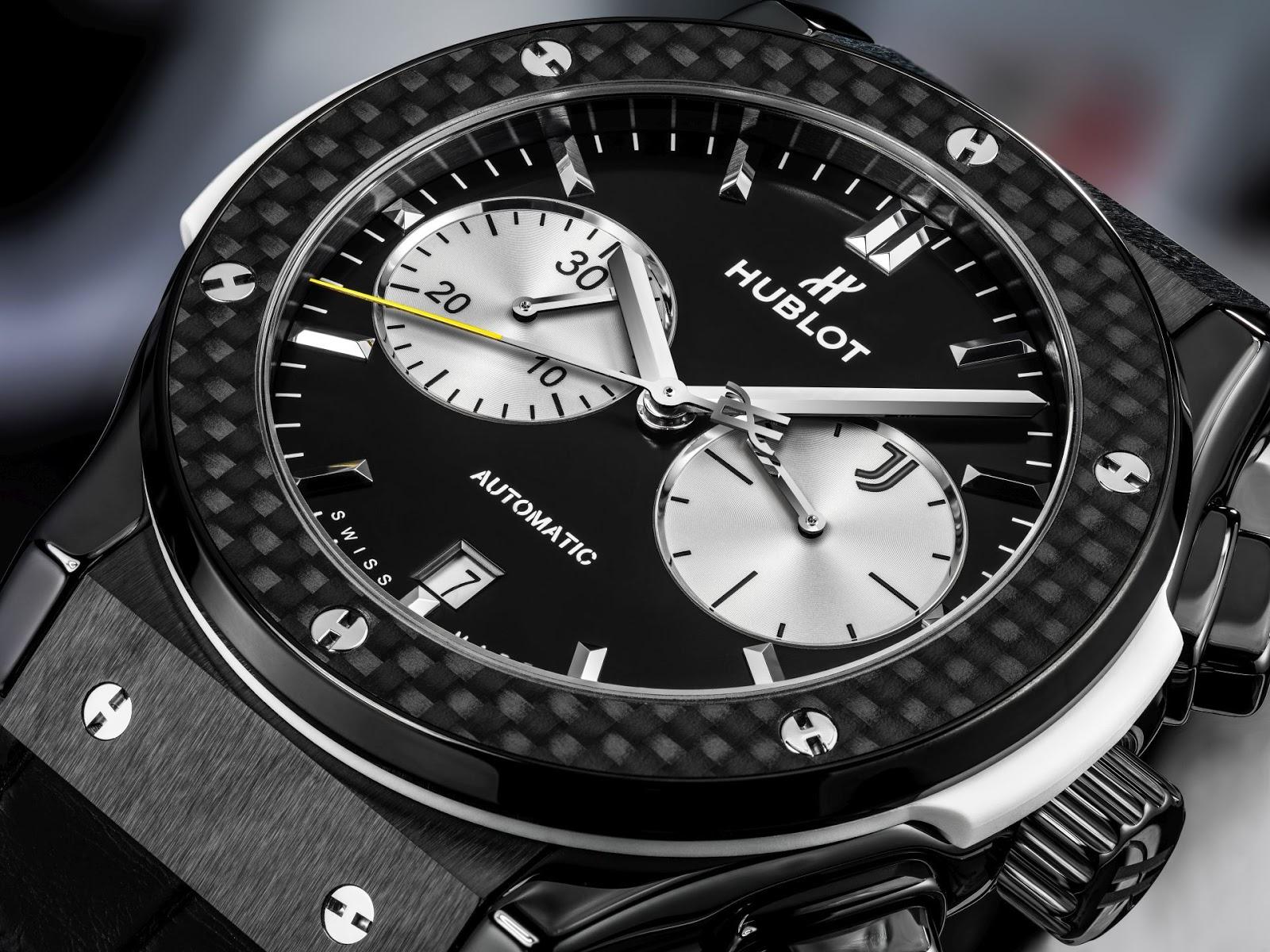 Hublot classic fusion chronograph juventus limited edition