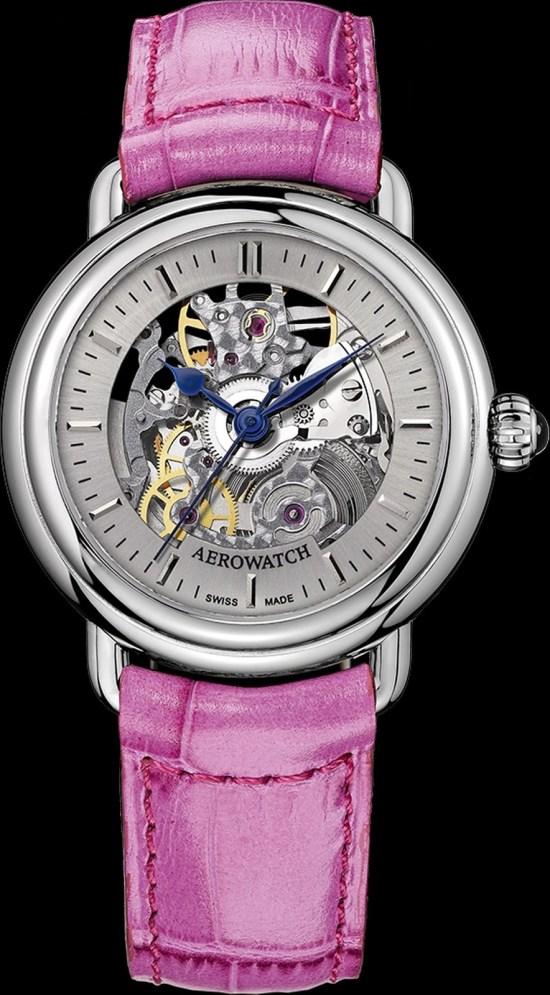 AEROWATCH 1942 Lady Squelette automatic skeleton watch