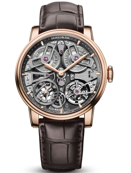 Arnold and Son Tourbillon Chronometer No.36, Tribute Edition Red Gold watch