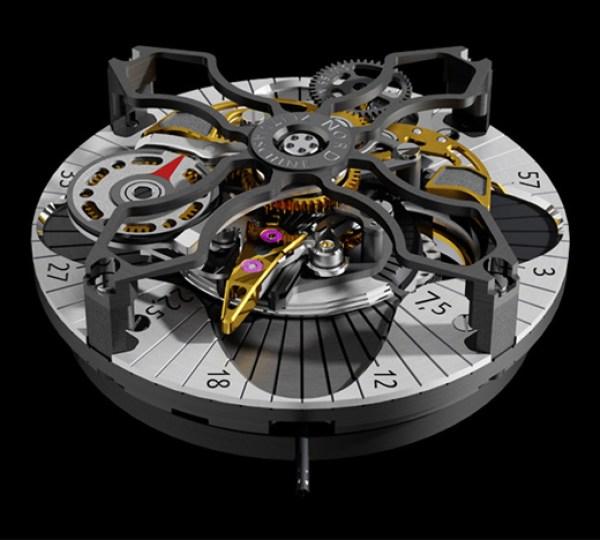 Nord Zeitmaschine Crossnroll watch movement