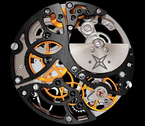 Carl Suchy & Söhne Waltz N°1 Skeleton watch movement