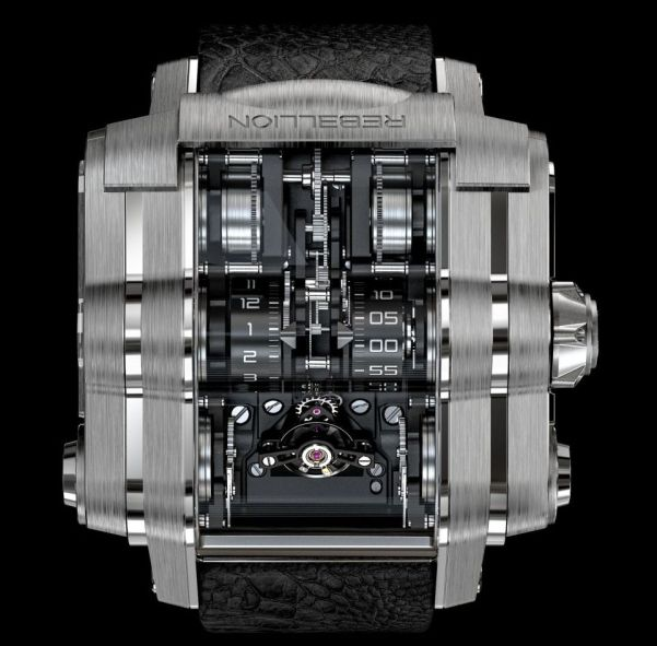 Rebellion T2M watch with 2 months power reserve