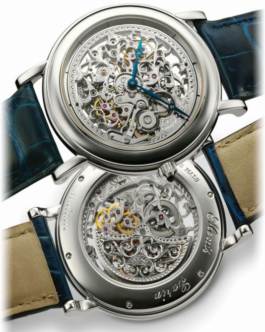 ALEXIS GARIN Squelette watch