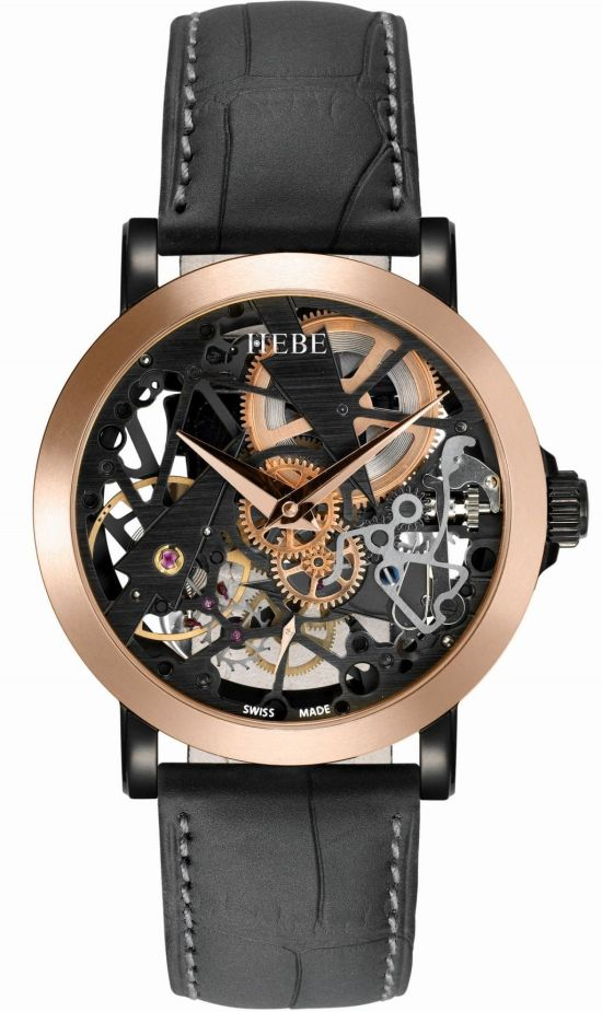 HEBE watches 'Arrows of Time' Skeleton
