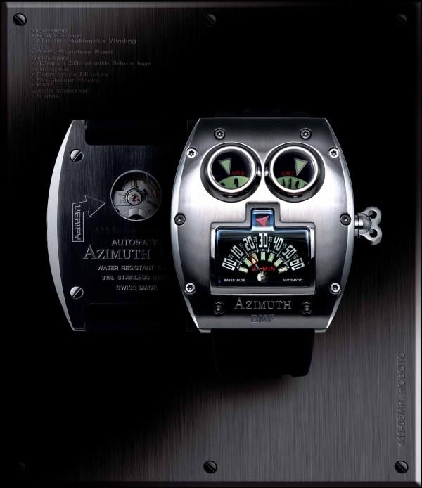 Azimuth Mr. Roboto watch