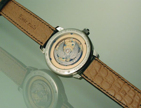 Thomas Prescher Tempusvivendi Collection caseback view