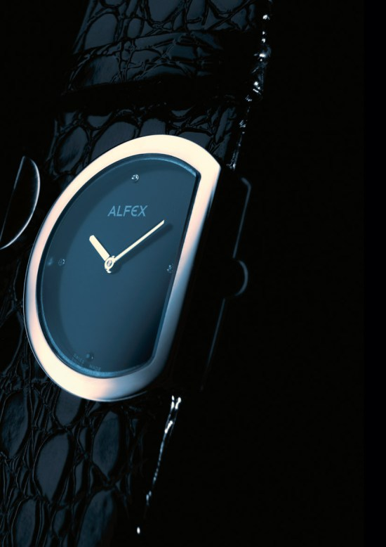 Alfex Lady Moon watch Model 5603 - Design by Georg Plum