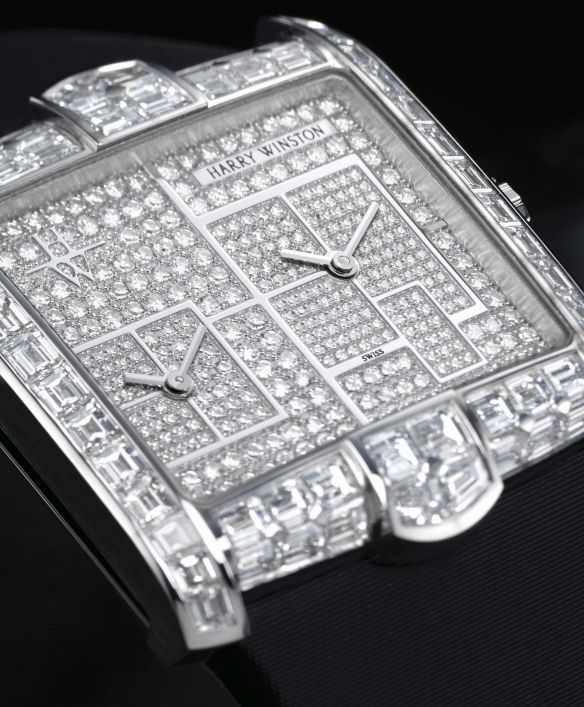 Harry Winston Avenue Squared A2 New York Dial