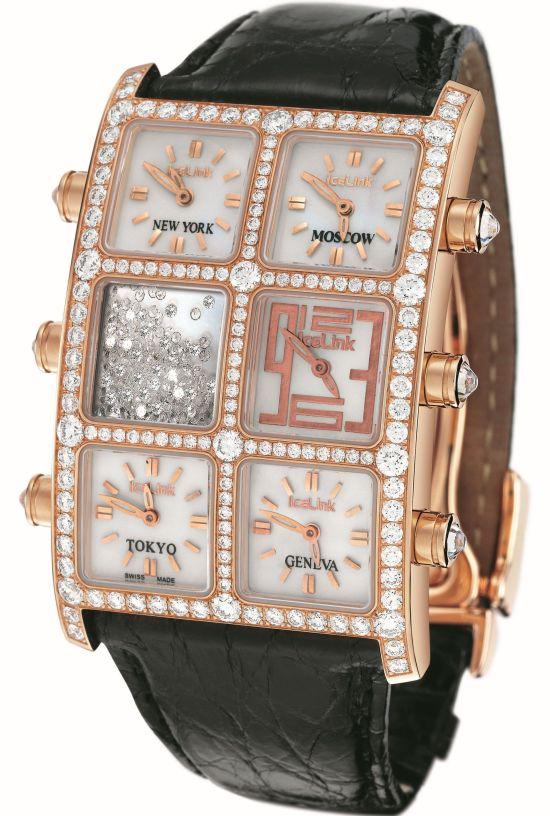Icelink 6 Timezone Snow watch