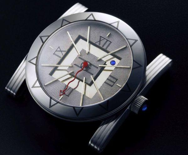 John C. Ermel 'Square Circle' watch