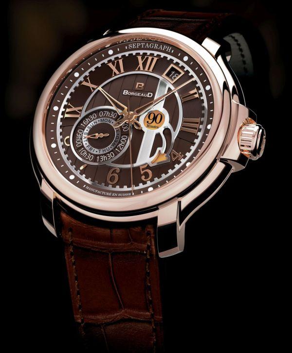 BORGEAUD swiss made Panchang watch