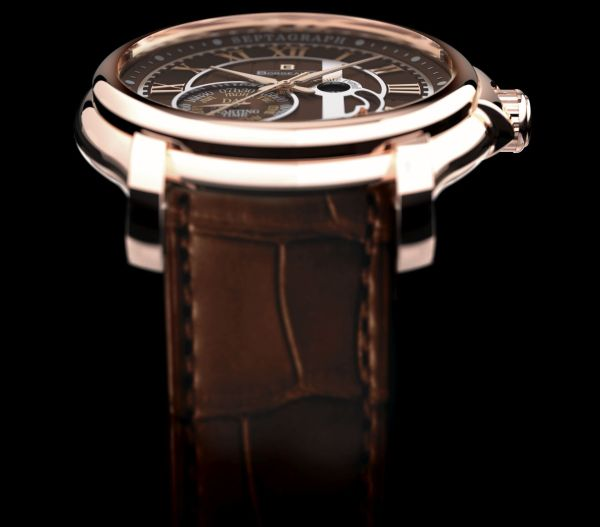 BORGEAUD SEPTAGRAPH PERPETUEL watch