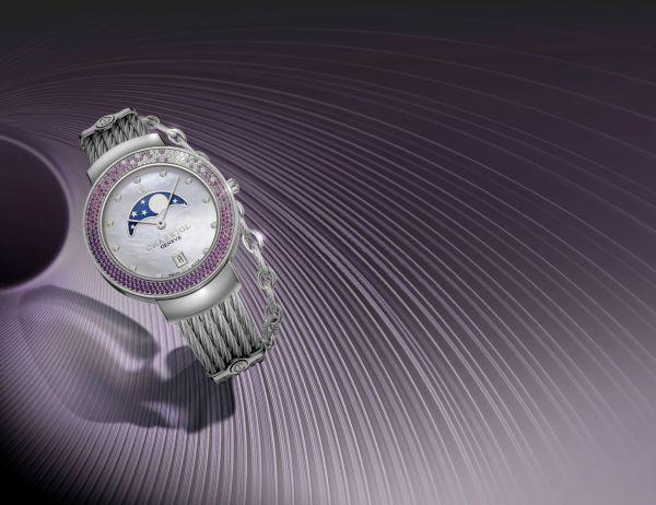 CHARRIOL ST-TROPEZ™ 35 'GlamMoon' watch