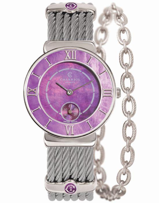 CHARRIOL ST-TROPEZ ™ PLUM watch