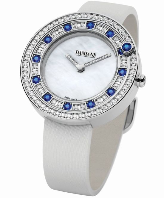 Damiani Belle Époque watch with Semi-setting (Sapphires)