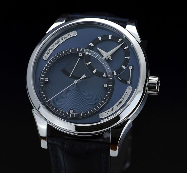 Gronefeld One Hertz Platinum Limited Edition watch
