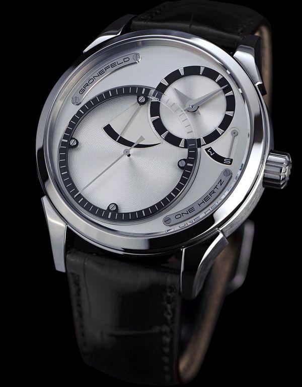 Grönefeld One Hertz Hertz Classic watch titanium