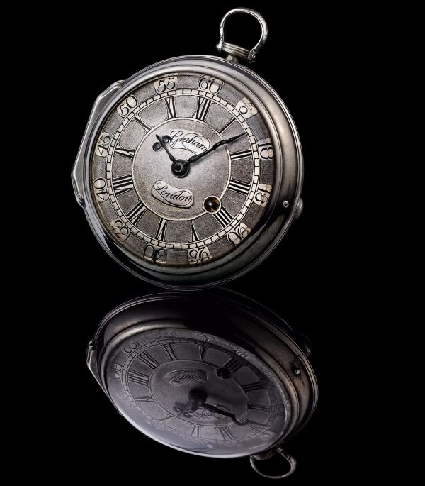 Pocket watch by George Graham