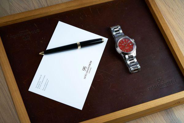 Sjöö Sandström Anniversary Edition Royal Steel Classic 41mm watch
