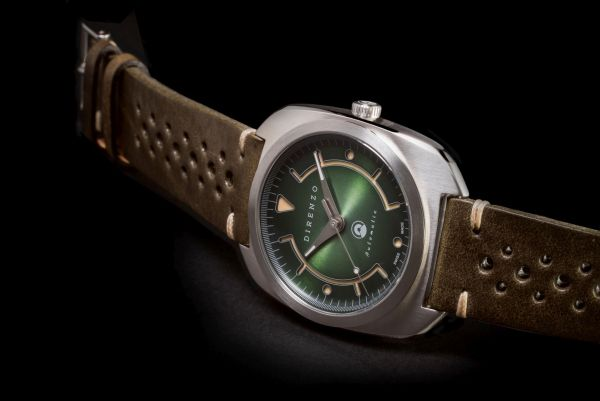 DIRENZO DRZ_02 Limited Edition automatic watch with green dial