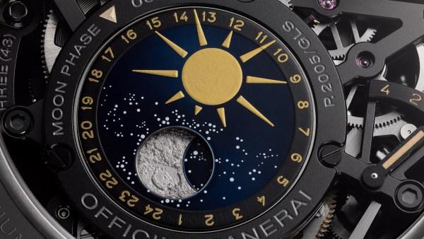 Panerai L'Astronomo - Luminor 1950 Tourbillon Moon Phases Equation of Time GMT 50mm