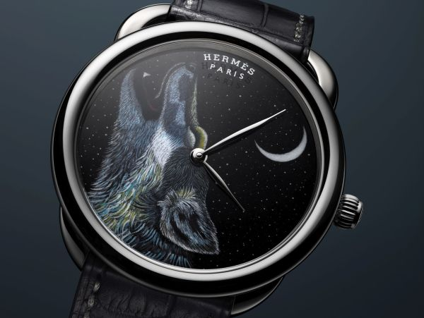Hermès ARCEAU Awooooo watch