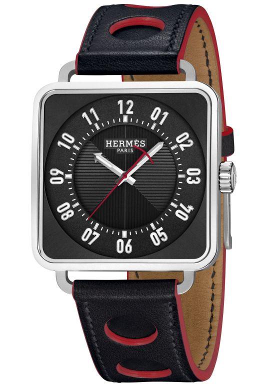Hermès Carré H Watch, New Black Dial Version