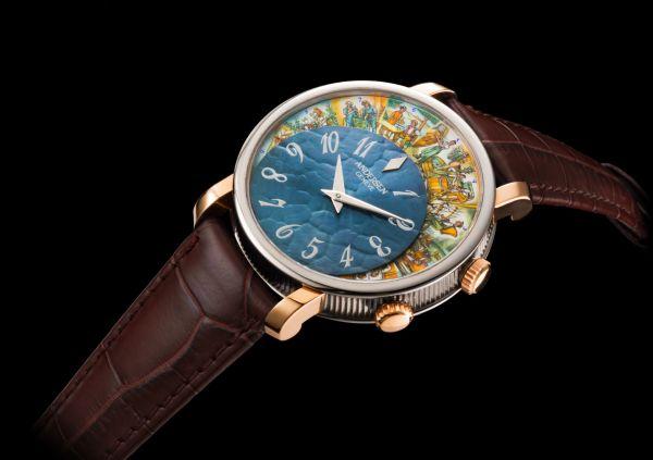 "ANDERSEN Genève ""Vita Vinum"" (Art & Culture Collection) Limited Edition watch"