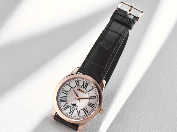 Ateliers deMonaco Poinçon de Genève – Classique rose gold watch