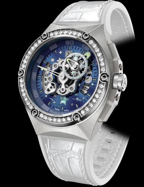 Franck Dubarry Crazy Wheel Lady watch