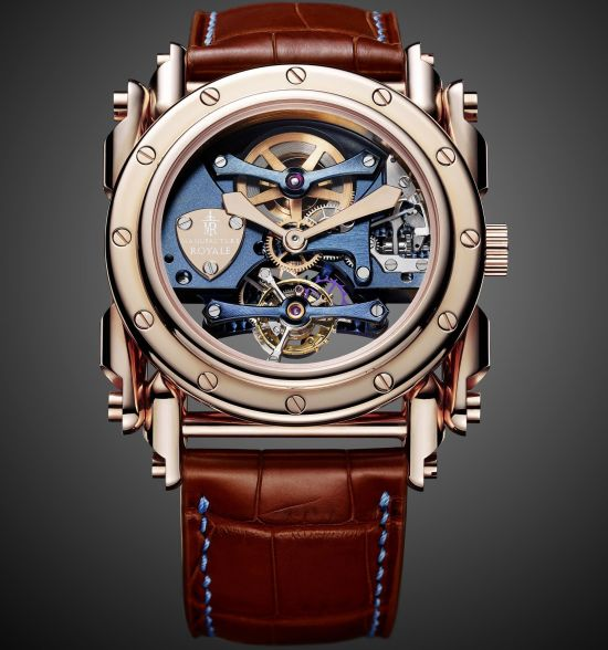 Manufacture Royale Androgyne Pink Gold Bespoke Edition