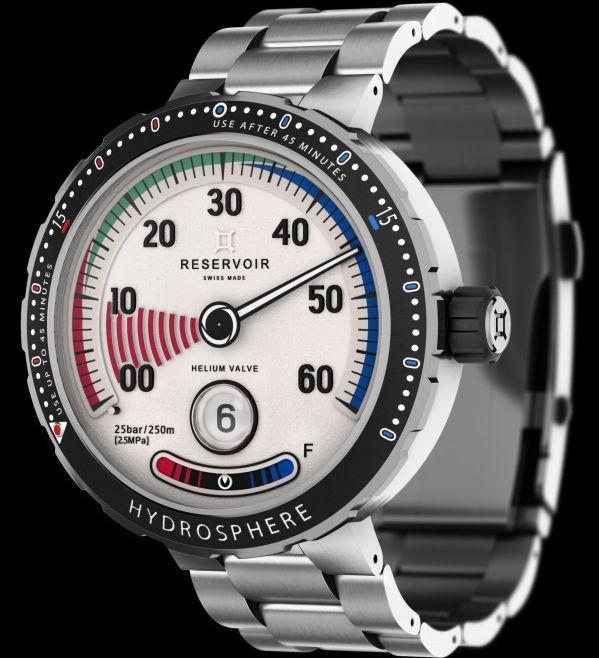 RESERVOIR Hydrosphere  Air gauge diving watch