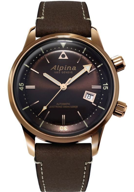 Alpina Seastrong Diver Heritage New Models (Reference AL-525BR4H4 and Reference AL-525BRC4H4)