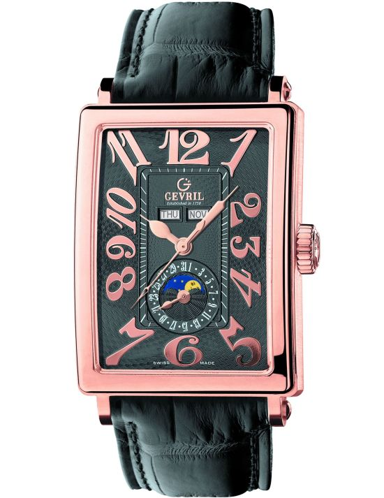 GEVRIL Avenue of Americas Limited Edition watch