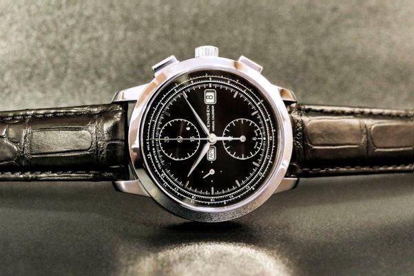 Kennsen Annual Calendar Chronograph Black dial