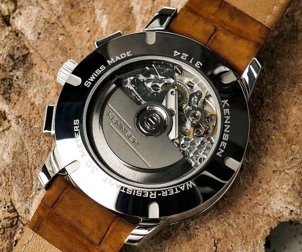 Kennsen Annual Calendar Chronograph movement Calibre KV775C Automatic