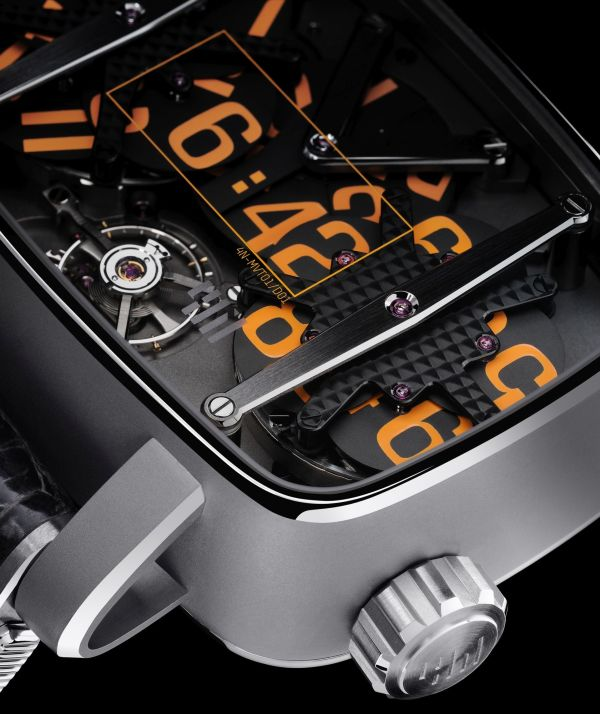 4N Watches - MVT-01 Bead-Blasted and Polished Titanium
