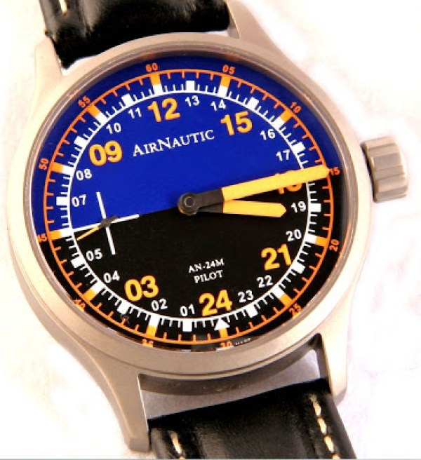 AirNautic Watch Company - AN-24M Pilot Watch