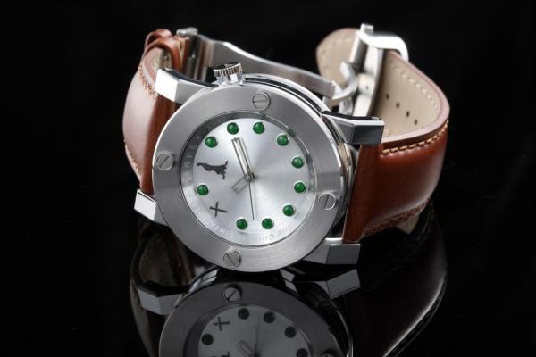 Chinese Timekeeper CTK14 Three Hands Automatic Jade watch
