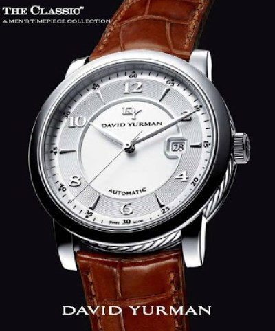 David Yurman CLASSIC™ Three Hands Automatic watch
